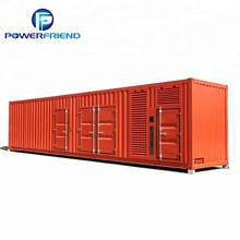 Containerized 2000kw <span class=keywords><strong>2</strong></span> <span class=keywords><strong>mw</strong></span> diesel container <span class=keywords><strong>generator</strong></span> met USA motor QSK
