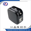 car charger Adaptor 5v 2.1a 1a black color and white color