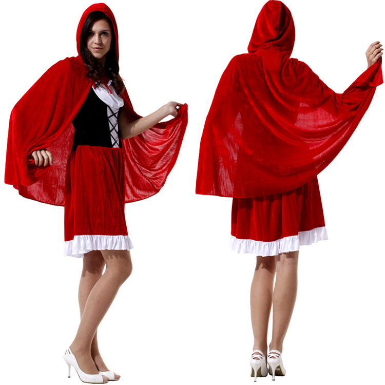 Mature Women Little Red Riding Hood Costume Sexy Halloween Costume
