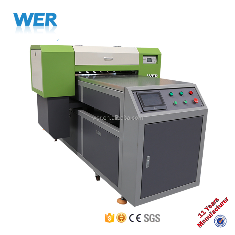 WER-EP7880T A1 t shirt printing machine in ink jet printer for textile printing