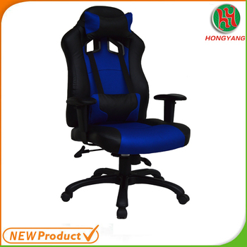Modern Style Commercial Gaming Chair Leather Office Bucket Seat Racing Swivel Hy