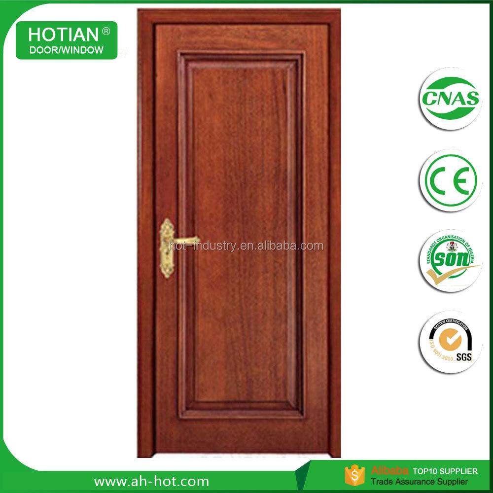 5 Hdf Solid Wood Interior Doors Bedroom Swing Type Wooden Door Design Pictures High Quality
