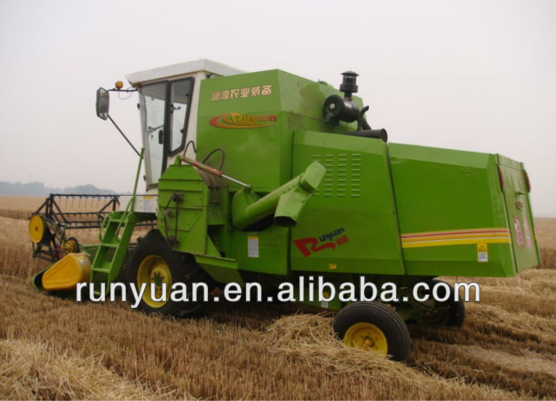 self-propelled 5kg/s feeding small wheat harvest machine 4LZ-3