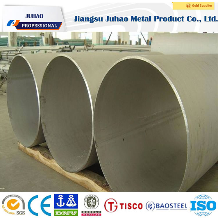 seamless stainless steel ss201 pipe corrugated steel tube satin 150G