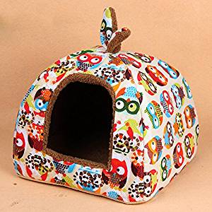 Texay(TM) Actionclub Dog House Fashion Small Pets House Union Flag New Arrival Puppy Beds For Pets Beds Cats Dog House HP352