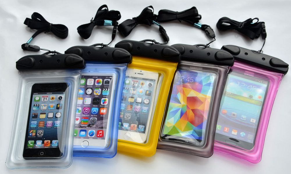 PVC Waterproof Floating Diving Bag/pouch for Smart phone Fishing Swimming