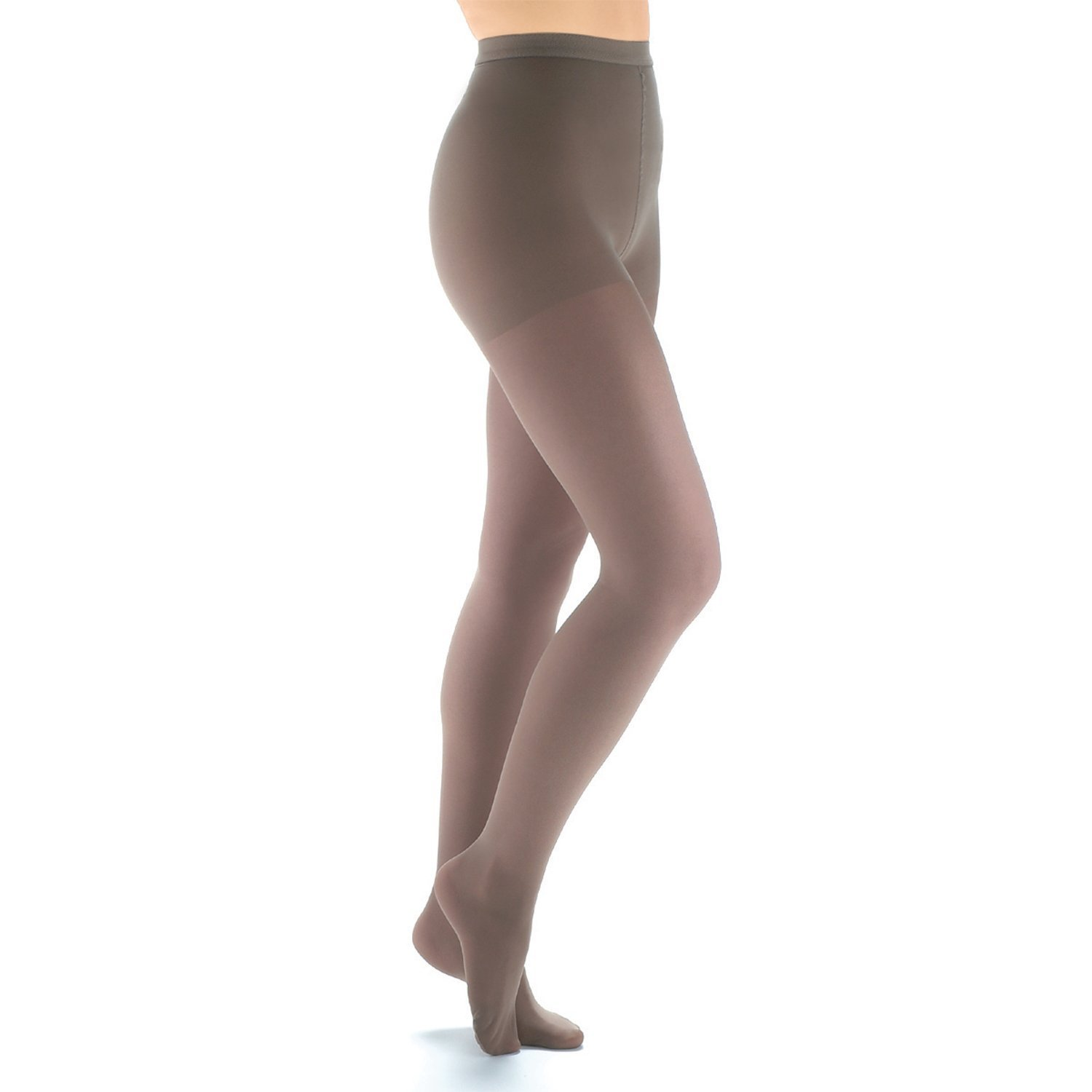 b3db659275 Get Quotations · Women's Support Plus Moderate 13-16 mm/Hg Compression  Pantyhose - Black - Extra