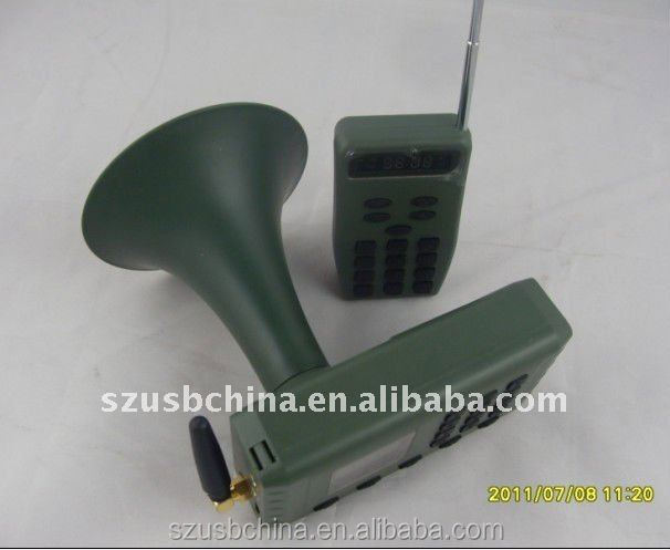 hunting bird machine decoying bird with remote sound encrption timer 12v made in china