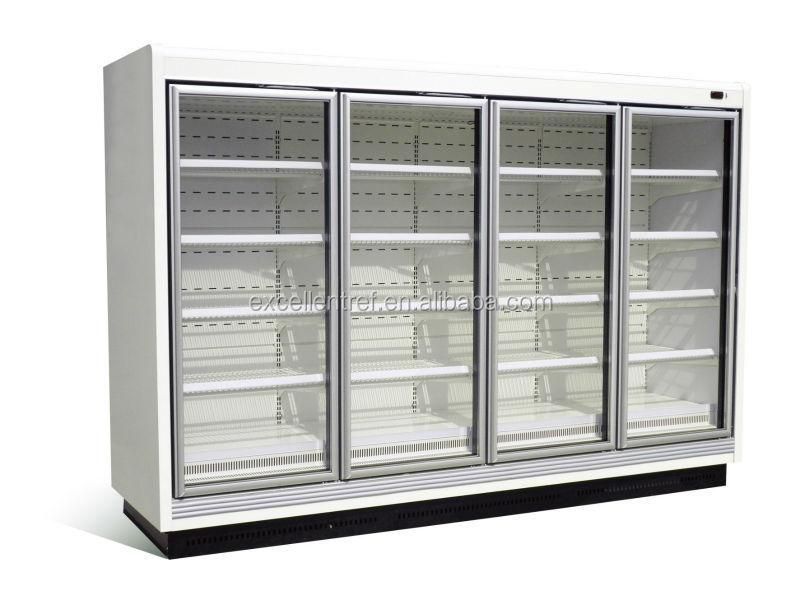 Kühlschrank Getränke : Kommerziellen kühlregal für getränke supermarkt kühlschrank für obst