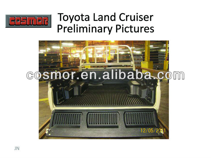 4x4 TOYOTA Land Cruiser pick up Bed Liner factory