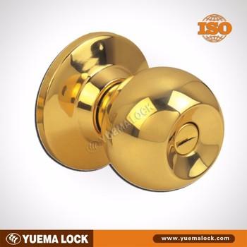 587 PB ET Cerradura De Pomo/ Perillas/ Cylindrical/wooden Or Metal Door