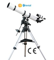 Aluminum Tripod Telescope China Factory,Sky Telescope FT1271200 Refractor,Telescope Watch Solar System Paper Box Package