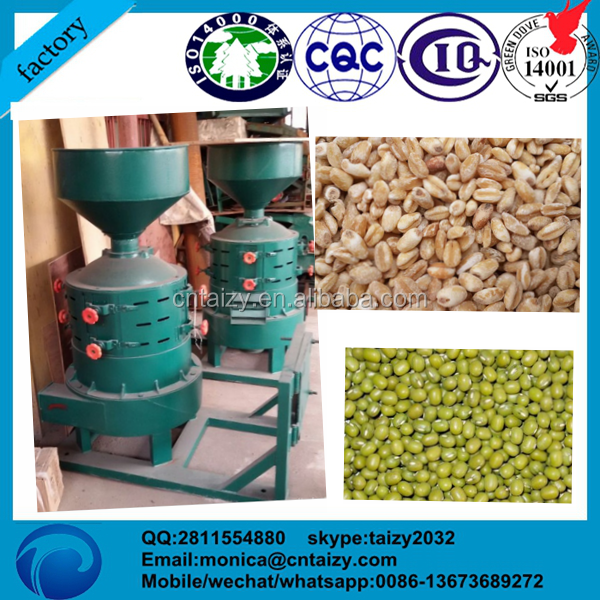 automatic electric Buckwheat peeling machine /Wheat/rice/sorghum/Spelt/rice hulling machine