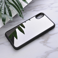 2017 Hot New Products China Stylish Hybrid PC+TPU Mirror Custom Phone Case 2 in 1 for iPhone 8 Case