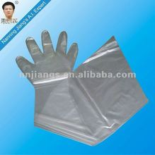 Jiangs plastic glove for new veterinary products