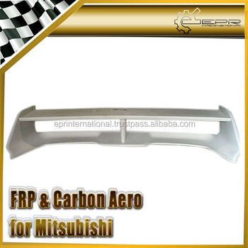 For Mitsubishi Evolution EVO 1 2 3 OEM Carbon Fiber FRP Spoiler Wing