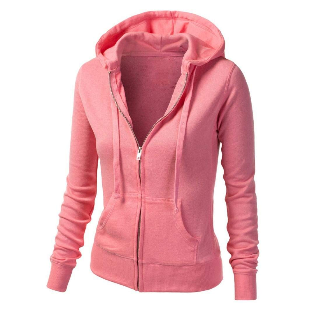 daf3056b9b7a7 Get Quotations · Jushye Hot Sale!!! Women's Jacket Hoodies, Ladies Hoodie  Zip Sweatshirt Womens Coat