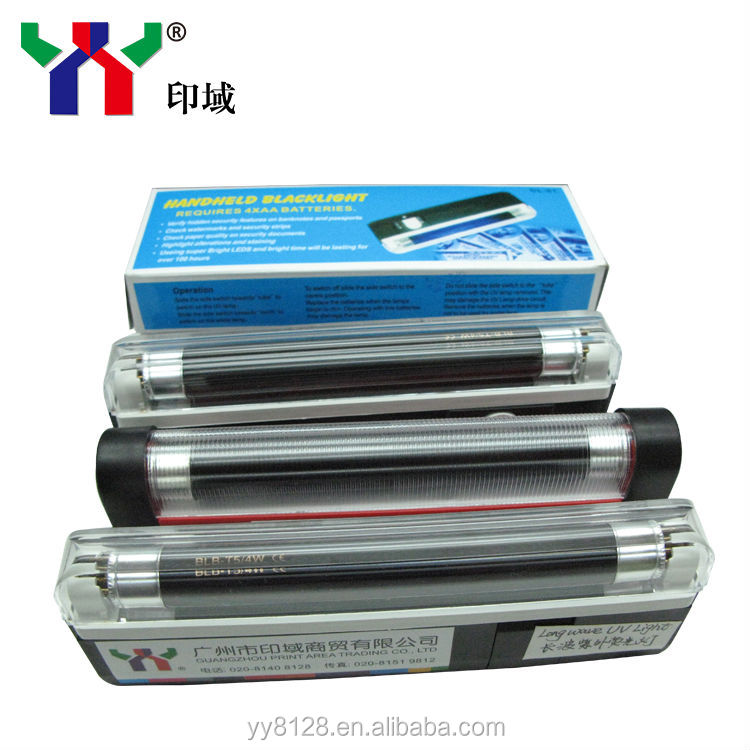 UV fluorescence light/ anti forgery ink reader
