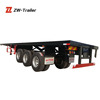 2014 Brand New 40ft flatbed container semi trailers/transfer goods trailer vehicle for sale