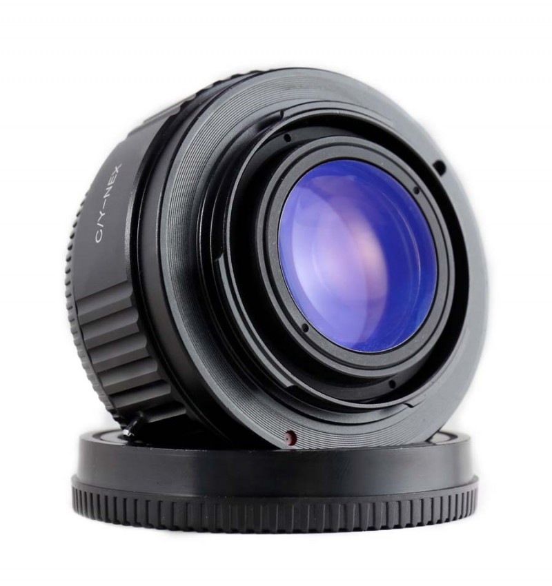 Focal Reducer Speed Booter Adapter (for)contax To (for)sony Nex ...