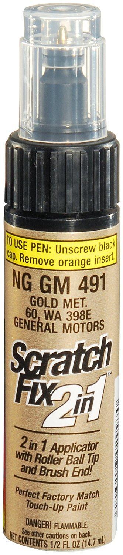 Dupli-Color NGGM491 Gold Metallic General Motors Exact-Match Touch-up Paint - 0.5 oz.