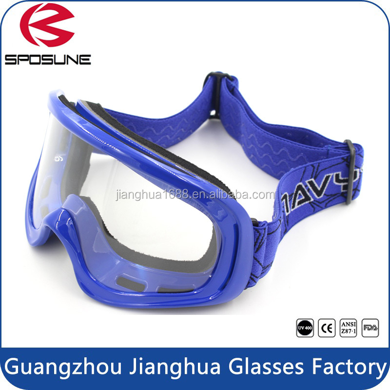 Custom wholesale high impact resistance motorcycle goggles safety motocross goggles with price