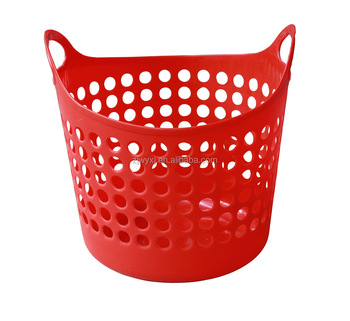 Reach Medium Flexible Round Plastic Laundry Basket