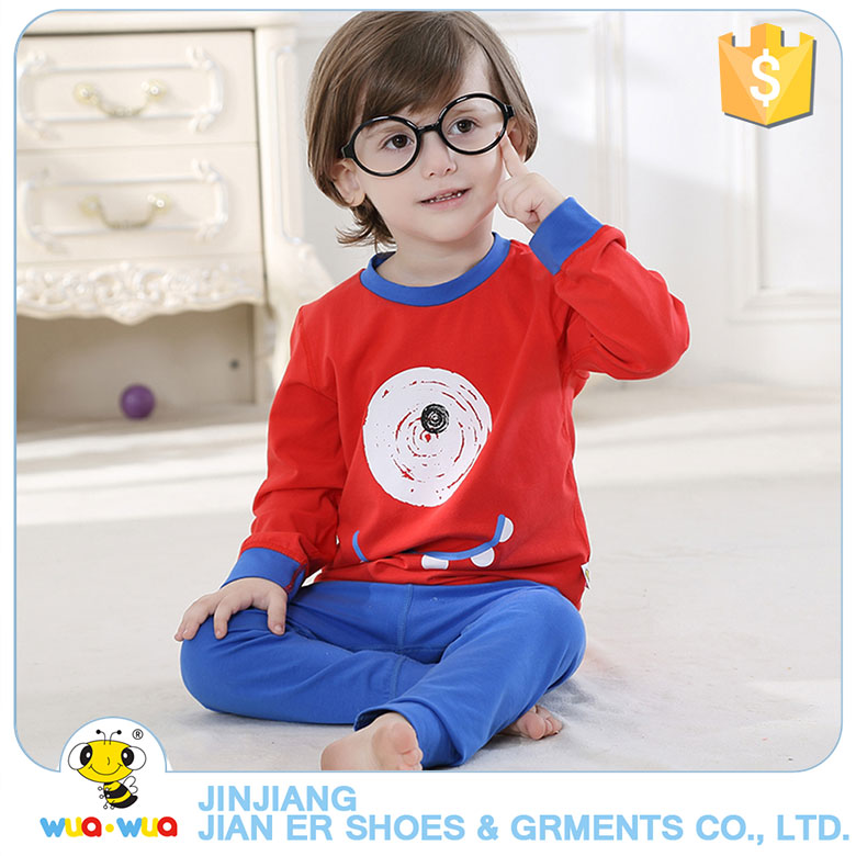 baby boy clothing childre wear baby Long sleeves cotton pajamas,kids pyjamas latest casual kids sleepwear