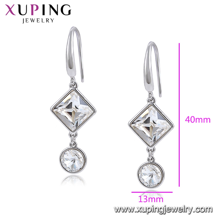 97737 xuping korean jewelry genuine crystals from Swarovski, earring making supplies