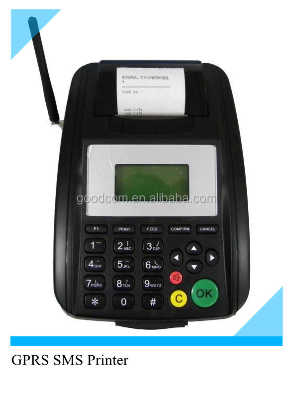 GOODCOM GSM Fixed Terminal with built in thermal printer for Mobile top up & mobile payment