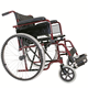 Convenient for elder folding manual wheelchair with wheel chair accessories