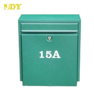#8175 Outdoor Mailbox Iron Post Office Box for Sale