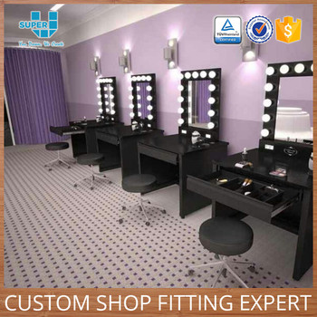 Great Guangzhou China Wholesale Shop Furniture Professional Makeup Display Table  For Sale