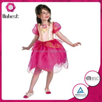 Elegant Princess Costume Barbie Genevieve Kids Costume Girls