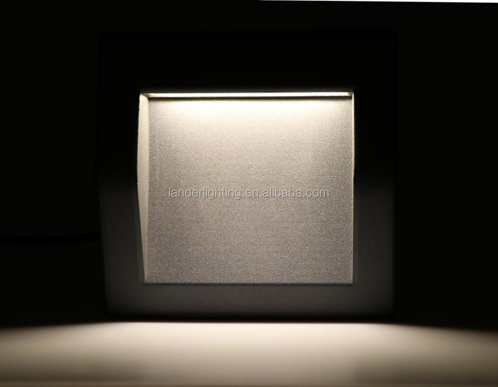 Modern Residential Style Popular Selling Energy Saving Aluminum Surface IP65 6W Corner Mounting Outdoor Wall Lights