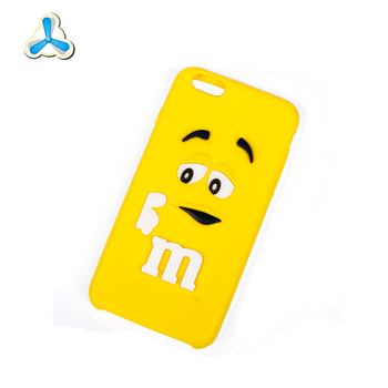 Good promotion custom made silicone phone case