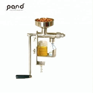 Stainless steel manually extract seeds oil/ portable home oil press machine