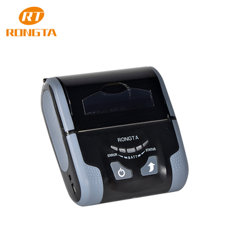 "3"" mobile bus/train ticket thermal bluetooth mobile printer, Rongta RPP300 BWU--rechargable wifi portable printer"