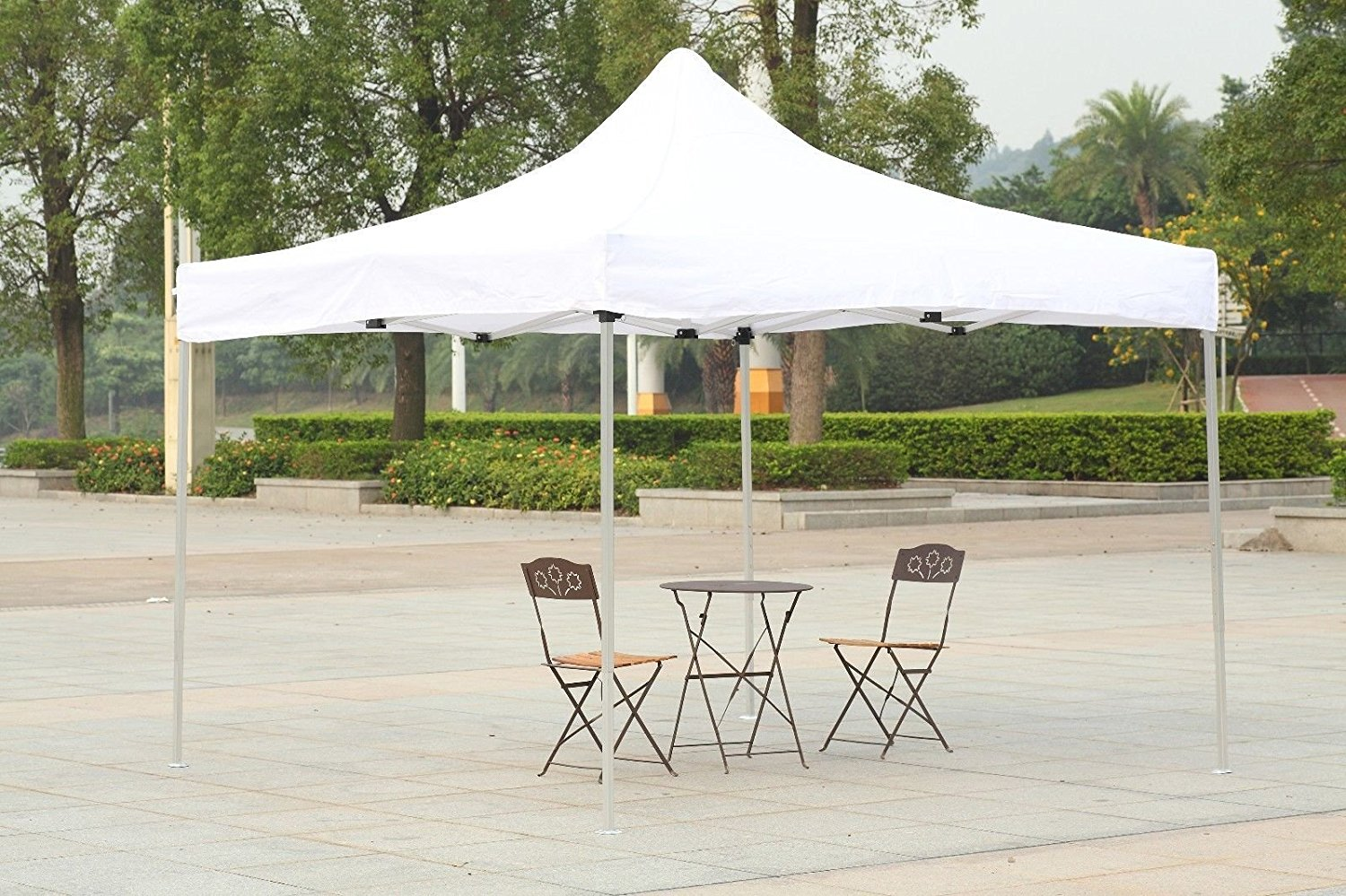 Buy Canopy Tent 10x10 Easy Pop Up Commercial Shelter Car Shelter ...