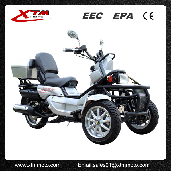 Hot sale 200cc three wheel motor scooters