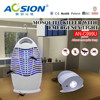 Professional high voltage shock lamp electric kills mosquito
