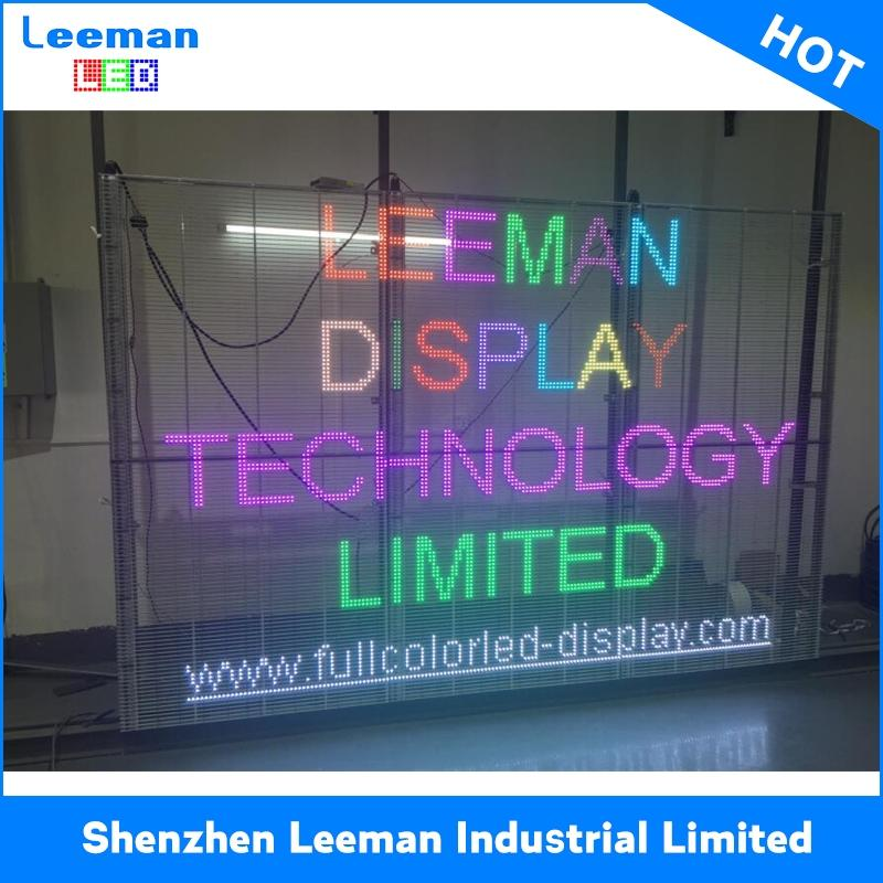 glass window transparent led display p10 LED Tube Light LED MODULE 16X8