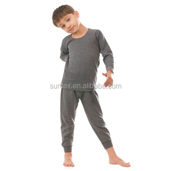 Suntex Boys Thermal Underwear Kids Long Johns Oeko Professional ...