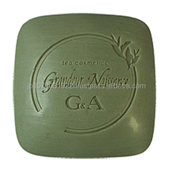 Skin-friendly organic green tea facial international soap brands