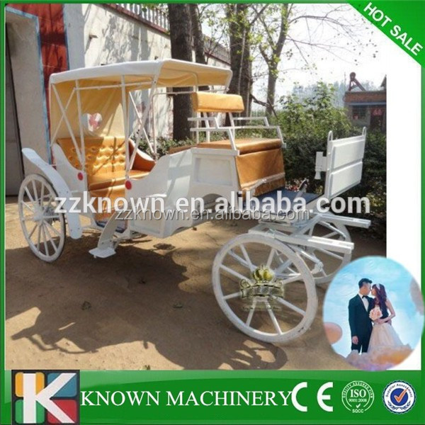 Wedding horse carriage with high quality cinderella carriage for sale