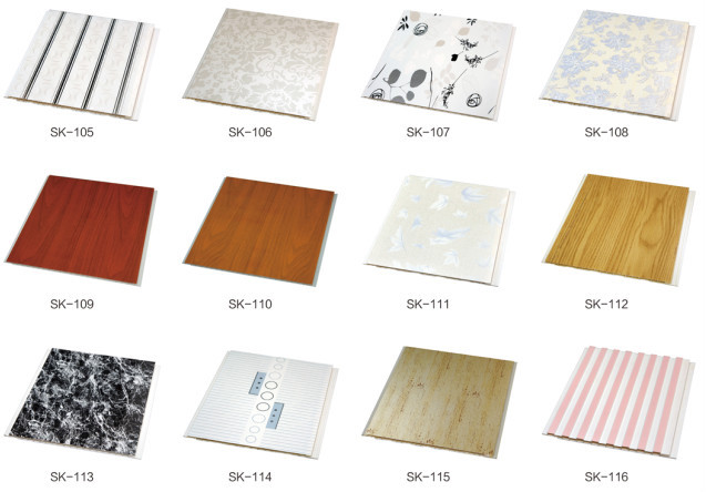 Interior Wall Finish Materials Decorative Plastic Laminated Panels