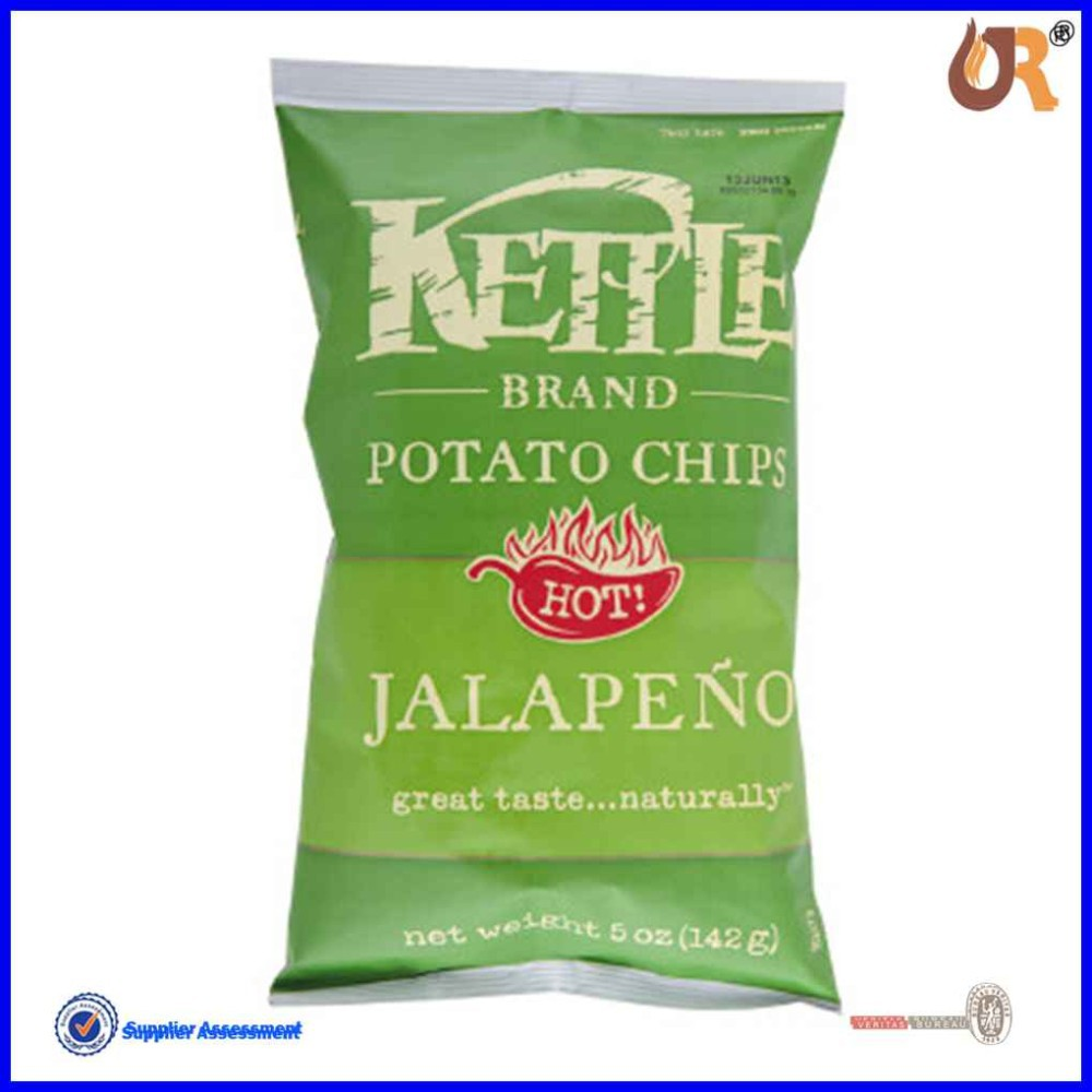 Accept Custom Order and Food Industrial Use plastic packaging bag for <strong>chips</strong> /snacks