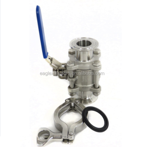 Excellent Clamp/Weld/Thread/ Flange Stainless Steel Hydraulic Ball Valve