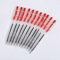 Newest sale classic blue/black/red promotional pen,fastness retractable ballpoint pen