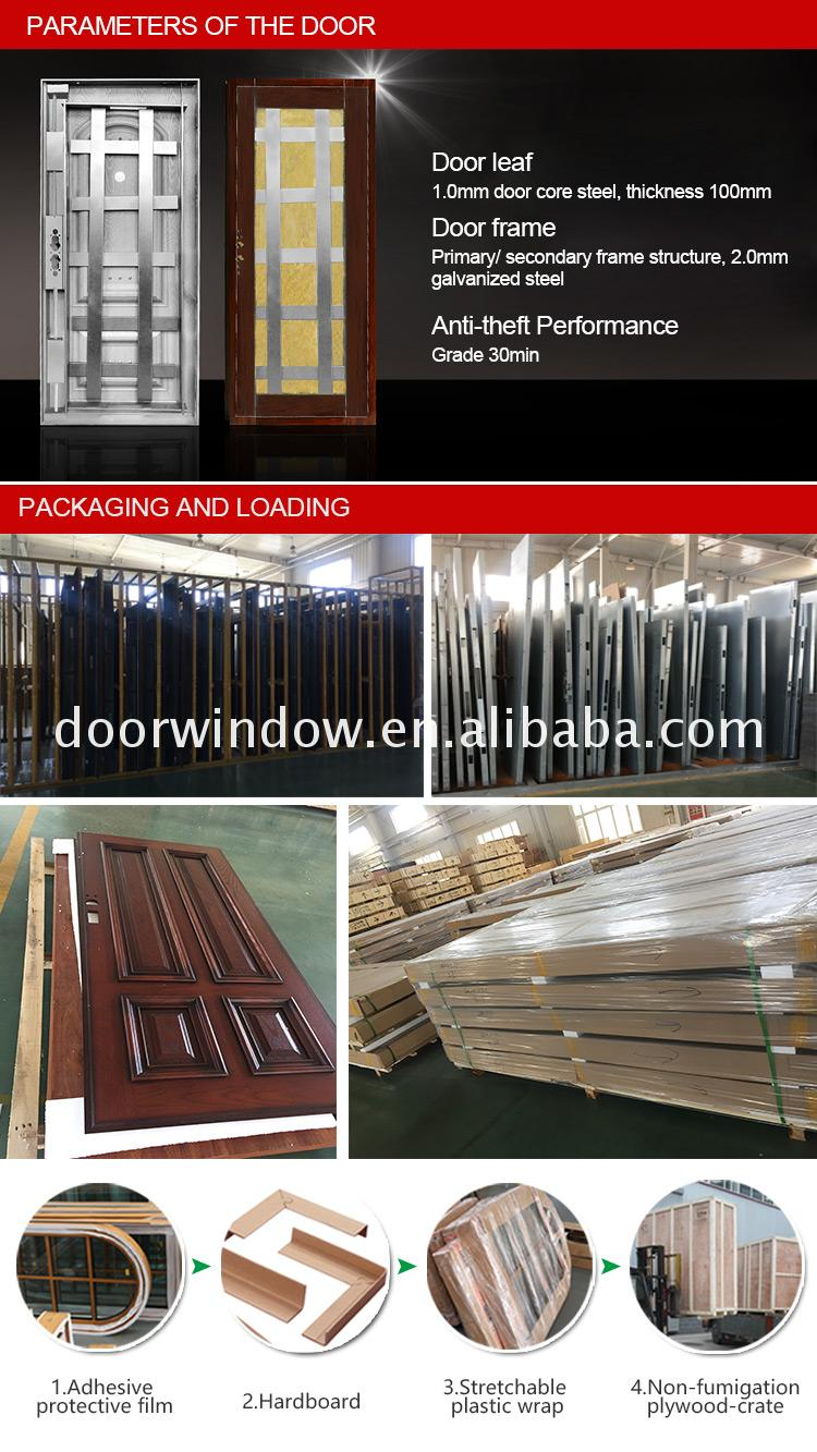 Casement windows and doors with french standard fly screen chinese style